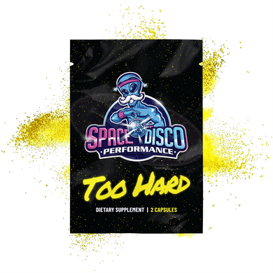 Space Disco Performance Too Hard Dietary Supplement Sample Pack
