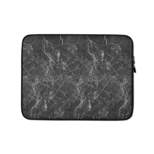 """Black Marble"" Laptop Sleeve"