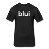 Men's Tee - Large Blui Logo - black