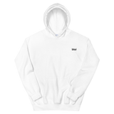 Unisex Embroidered Hoodie - Left Chest Blui Logo