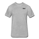Men's Fitted 60/40 Tee - Left Chest Blui Logo