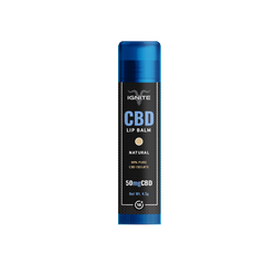 IGNITE CBD NATURAL LIP BALM - 50MG