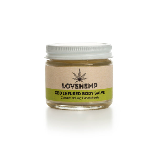 LOVE HEMP CBD BODY SALVE 300MG - 50ML