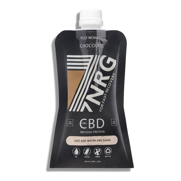 Post-Workout Chocolate CBD Protein Shake | 7NRG