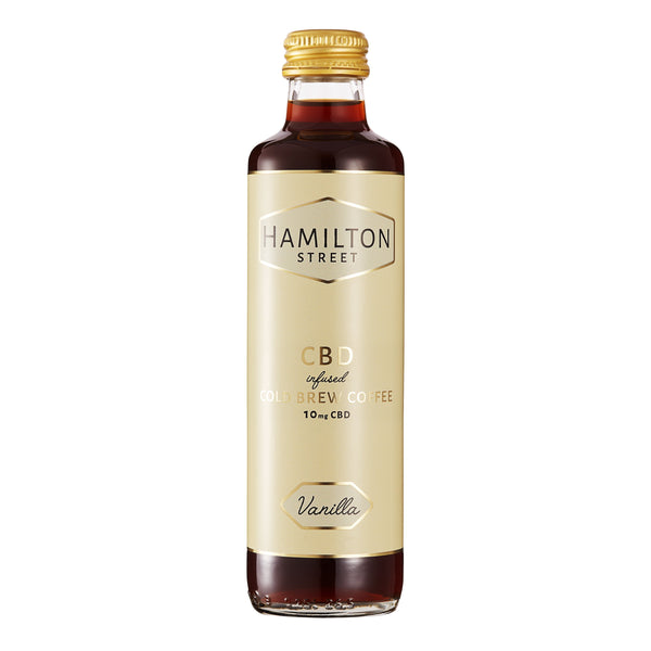 HAMILTON STREET CBD INFUSED COLD BREW COFFEE VANILLA 10MG - 250ML