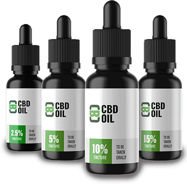 CBD Asylum CBD Oil Tincture - 10ml (250mg, 500mg, 1000mg, 1500mg)