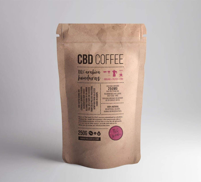 The Leaf Co. CBD Coffee