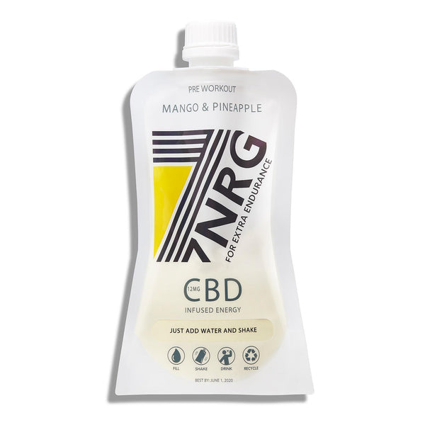Pre-Workout Mango Pineapple CBD Energy Shake | 7NRG