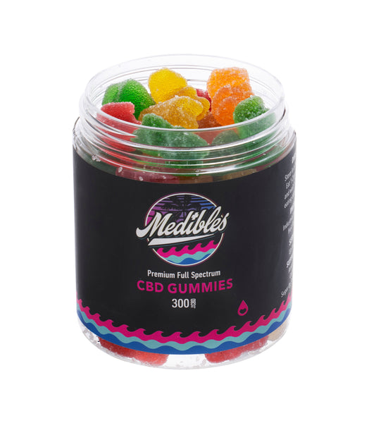 MEDIBLES CBD GUMMIES FULL SPECTRUM GUMMY BEARS - 300MG
