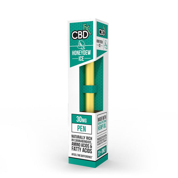 CBDFX CBD DISPOSABLE HONEYDEW ICE VAPE PEN - 30MG