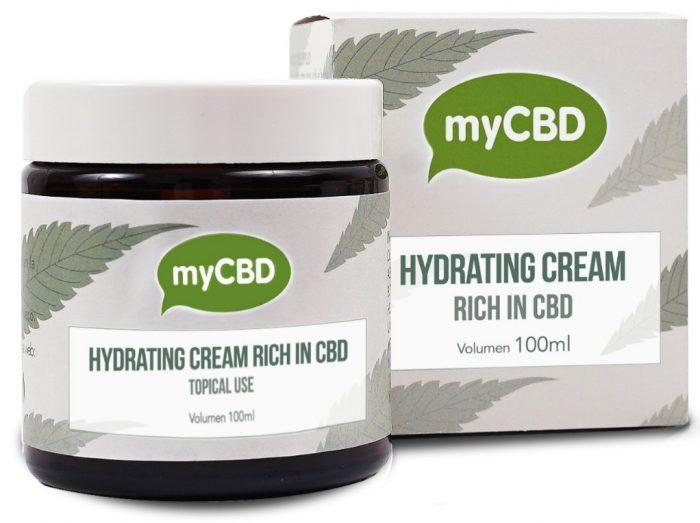MYCBD HYDRATING OIL CREAM - 100ML