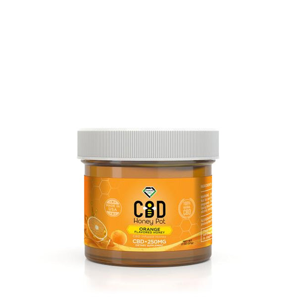 DIAMOND CBD INFUSED VARIOUS FLAVOURS HONEY POTS - 250MG