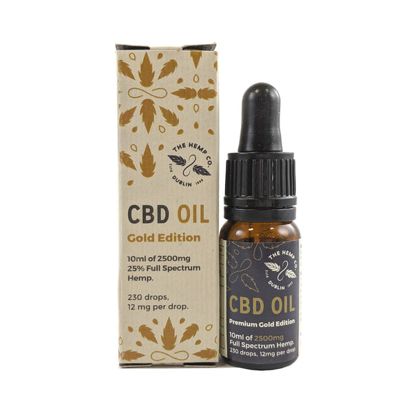 Gold Edition CBD Oil | The Hemp Company Dublin