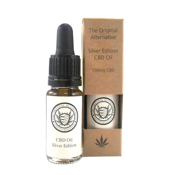 Silver Edition CBD Oil (Indica) | The Original Alternative