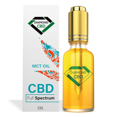 DIAMOND CBD FULL SPECTRUM MCT OIL -  30ML