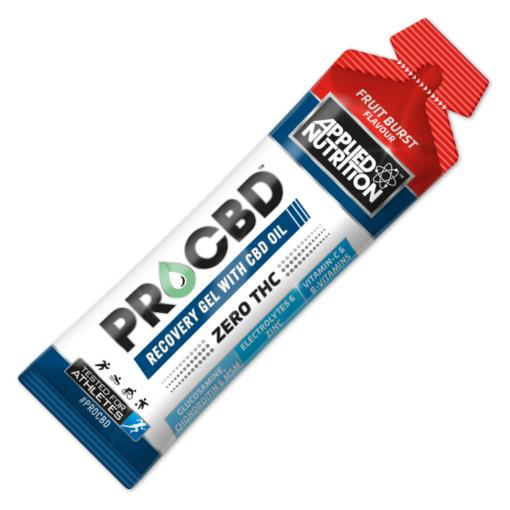 APPLIED NUTRITION PRO CBD FRUIT BURST RECOVERY GEL - 25MG