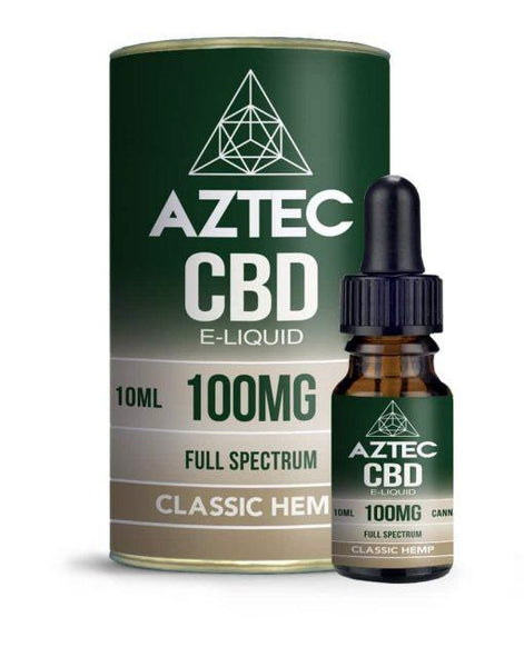 AZTEC CBD E-LIQUID CLASSIC HEMP - 10ML