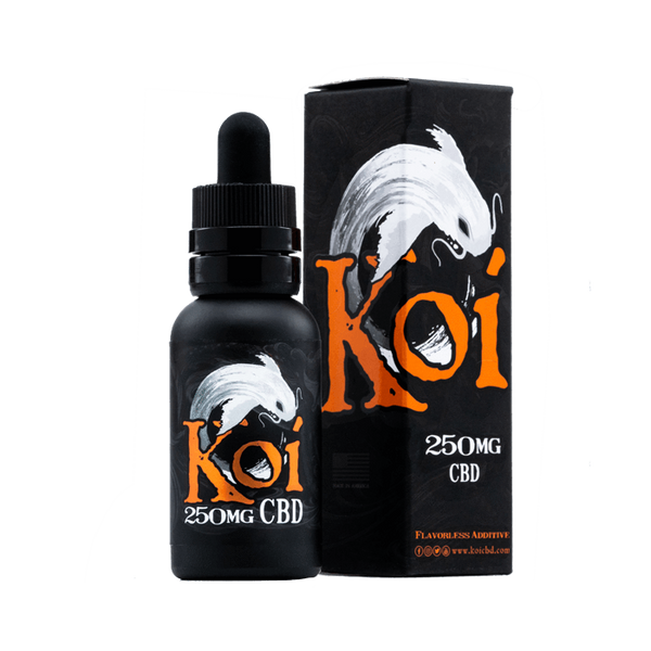 KOI WHITE CBD E-LIQUID FLAVOURLESS ADDITIVE - 30ML