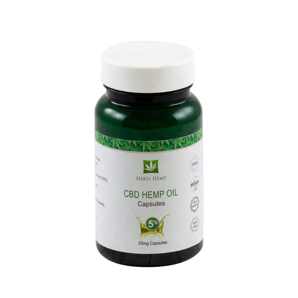 Full Spectrum CBD Capsules | Herts Hemp