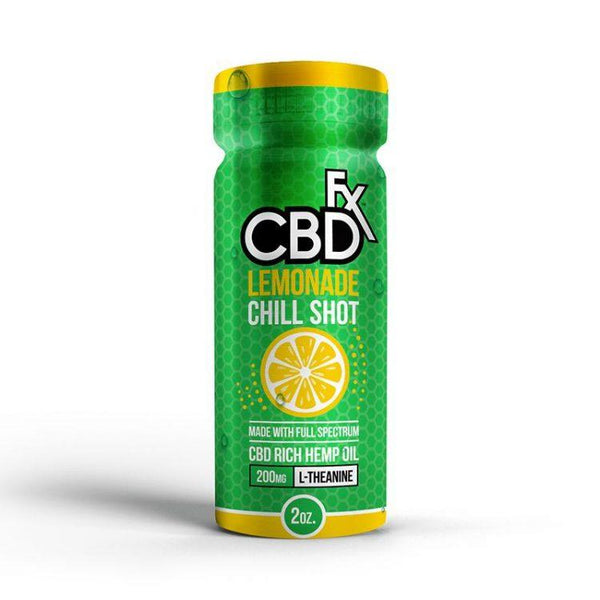 CBDFX CBD CHILL SHOT 20MG - LEMONADE FLAVOUR