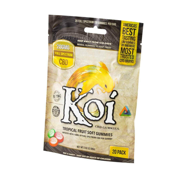Koi CBD Gummies | Tropical Fruit