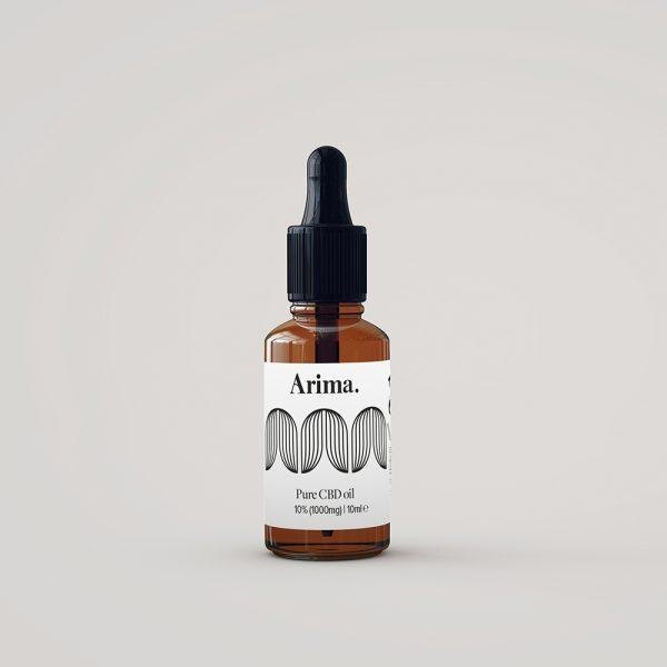 Arima Pure CBD Oil - 10ML - (500mg, 1000mg, 2000mg)