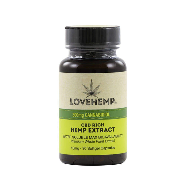CBD Soft Gel Capsules (30 Capsules) | Love Hemp