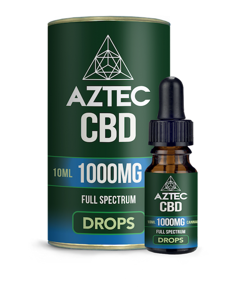Aztec CBD Oil Drops 1000mg - 10ml