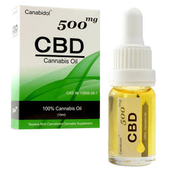 Canabidol CBD Oil Drops 250mg, 500mg, 1000mg - 10ml