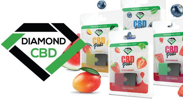 DIAMOND CBD POD WATERMELON - 100MG