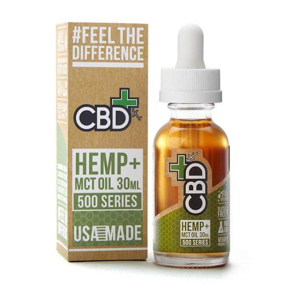 CBDfx CBD Hemp & MCT Oil Tincture - 30ML (500mg, 1000mg, 1500mg)