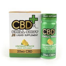 CBDFX CBD CHILL SHOT 20MG LEMONADE FLAVOUR - BOX OF 6
