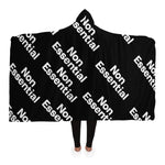 Non Essential Hooded Blanket