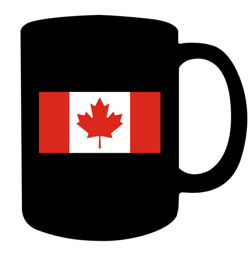 Non Essential Canadian Black Mug 11oz