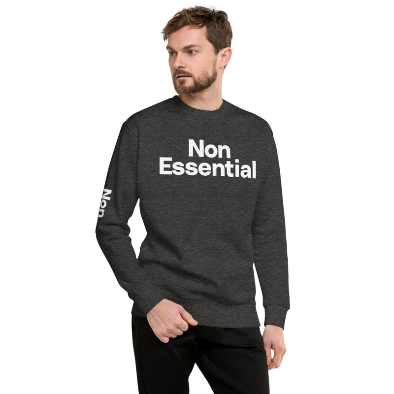 Non Essential Men's Fleece Pullover