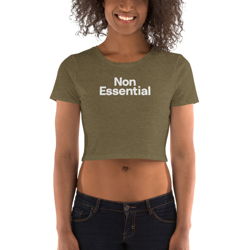 Non Essential Women's Crop Tee