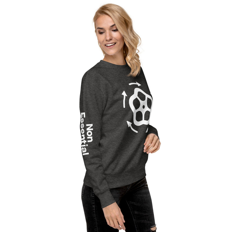 Close The Valve Women's Fleece Pullover