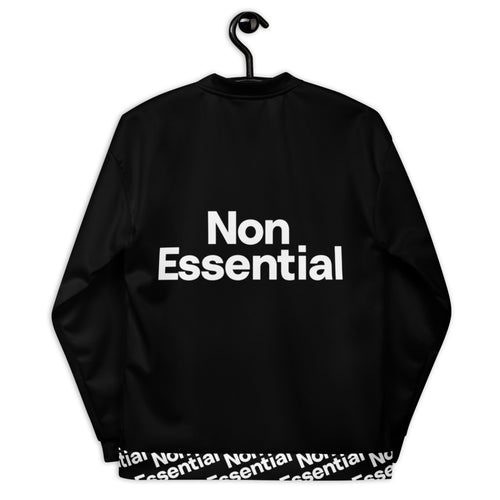 Non Essential Unisex Pattern Bomber Jacket