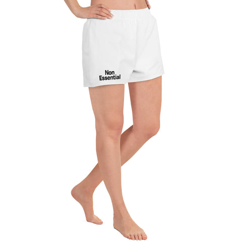 Non Essential Women's Athletic Short Shorts