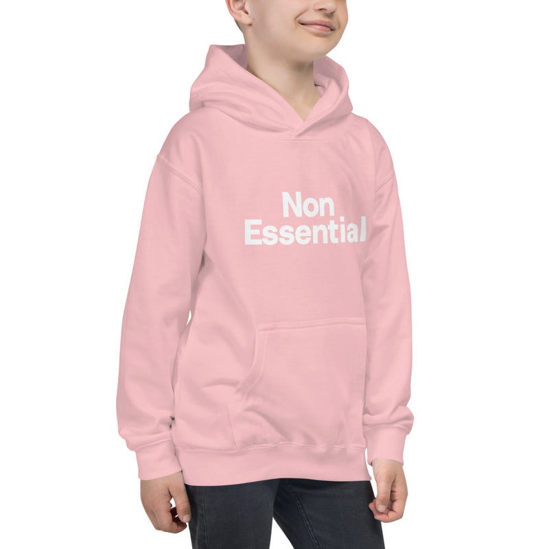 Non Essential Kids Hoodie