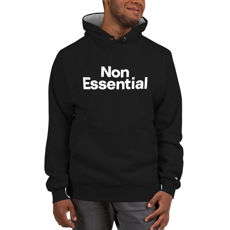 Non Essential Men's Champion Hoodie