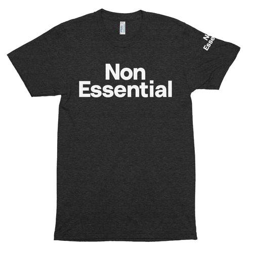 Non Essential Men's Tri-Blend Track Shirt