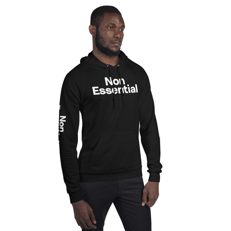 Non Essential Men's Fleece Hoodie