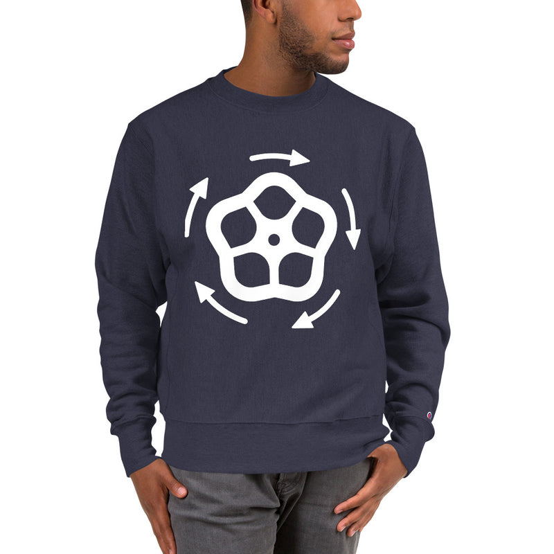 Close The Valve Men's Champion Sweatshirt