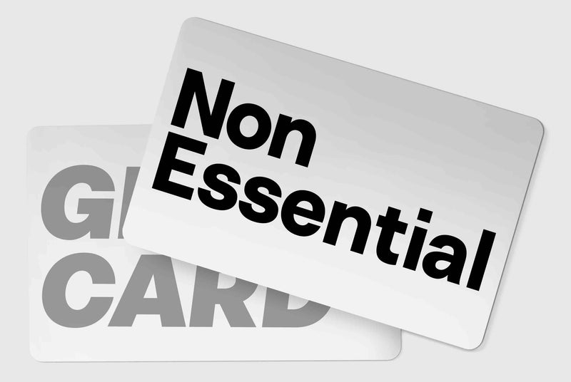 Non Essential Gift Card