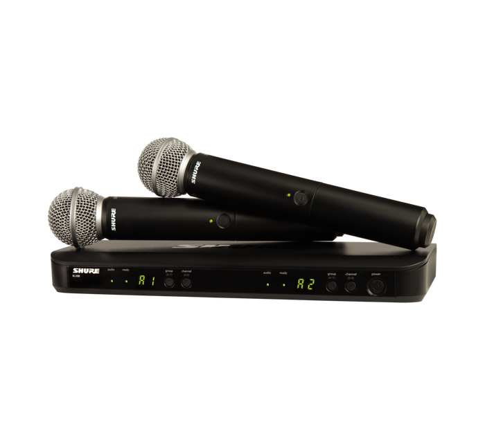 BLX288/SM58 Dual Wireless Handheld Microphone System (Freq: H10)