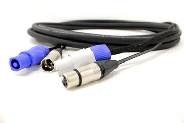 DH-PPX PowerCON & XLR Hybrid Cables