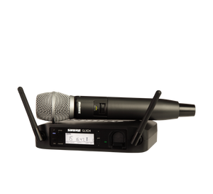 GLXD24/SM86 Wireless Handheld Microphone System