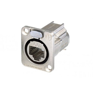 Cat6A ICD - D-Type Connector Panel Mount - NE8FDX-Y6