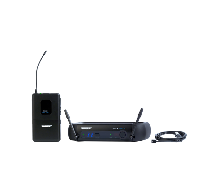 PGXD14/93 Digital Lavalier Wireless System